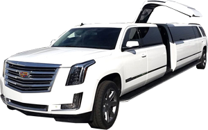 dallas escalade jet door stretch limousine